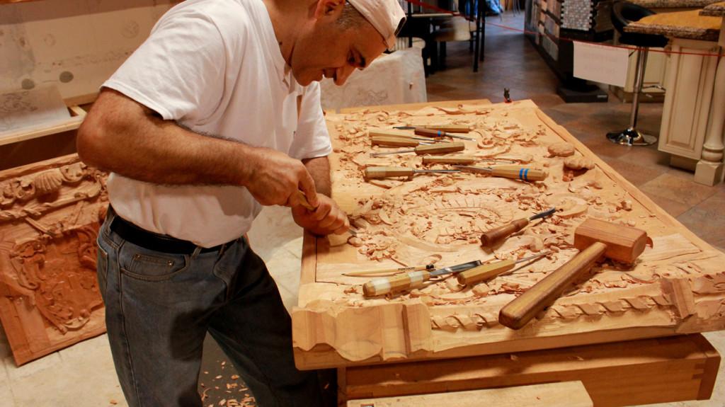 Antique Teak Wood Hand Carving, Hand Carved Furniture