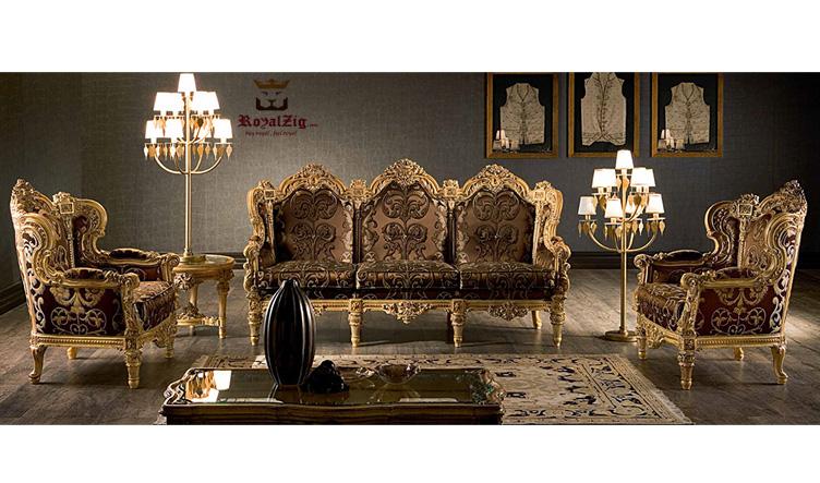 Ambli Designer Sofa Set Brand Royalzig