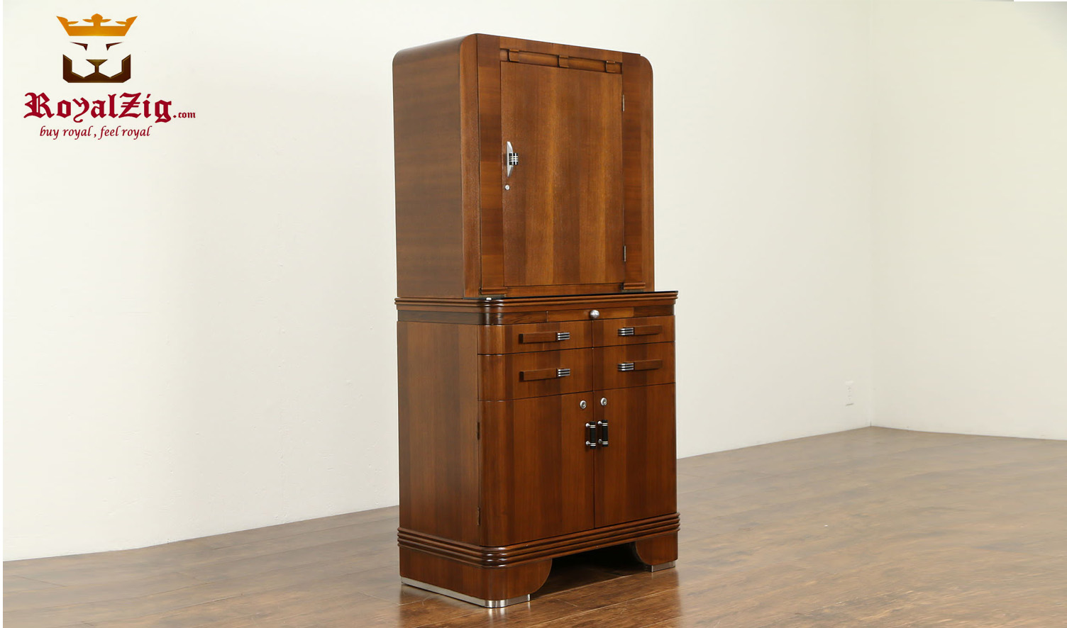Niue Antique Style Bathroom And Linen Cabinet